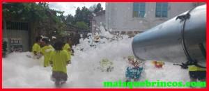 Fiesta de la espuma Galicia