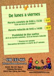 Campamento Ourense precios y horarios