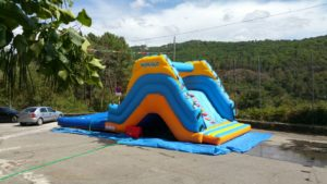 Alquiler hinchable con piscina Ourense